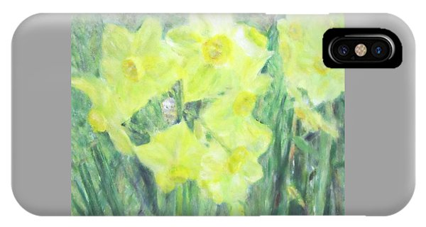 Colorful  Yellow Flowers IPhone Case