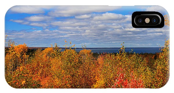 Colors Above Lake Superior IPhone Case