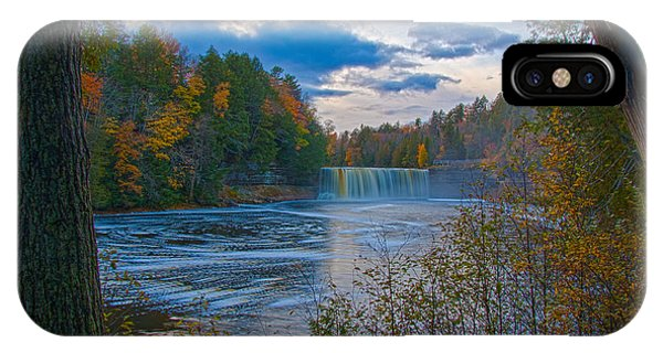 Colors At Tahquamenon Falls IPhone Case