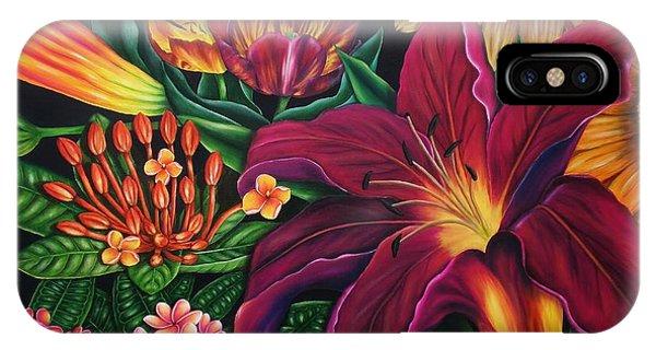 Colors Garden IPhone Case