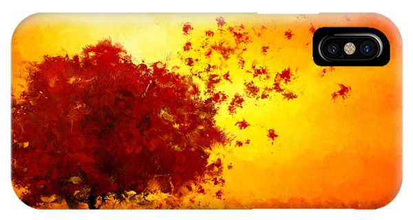 Fall Colors iPhone Case - Colors Hymn by Lourry Legarde