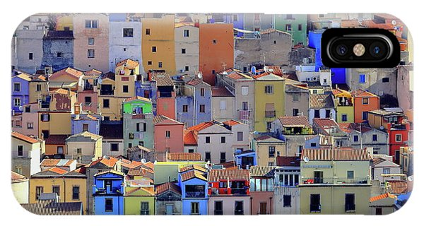 Rooftops iPhone Case - Colors by Lorenzo Valsecchi