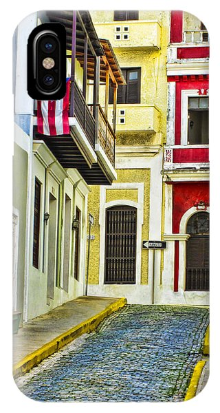 Exterior iPhone Case - Colors Of Old San Juan Puerto Rico by Carter Jones