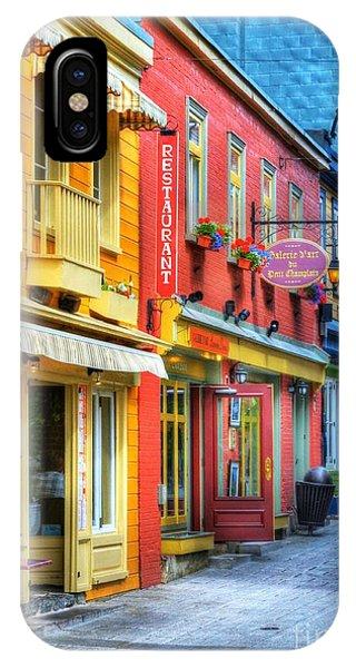 Quebec City iPhone Case - Colors Of Quebec 20 by Mel Steinhauer