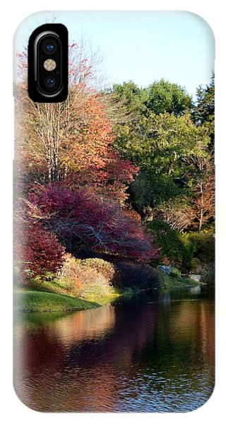 Colors Of Still Waters Glow Phone Case by Lena Hatch