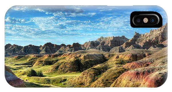 Colors Of The Badlands IPhone Case