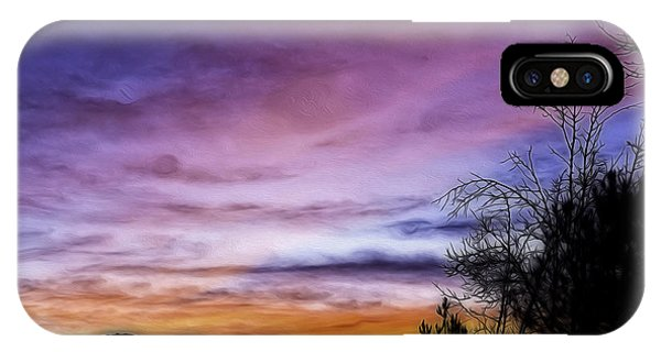 Colors Of The Night Phone Case by Nancy Marie Ricketts