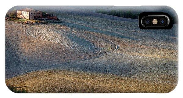 Path iPhone Case - Colors Of Tuscany Sunset by Marek Boguszak