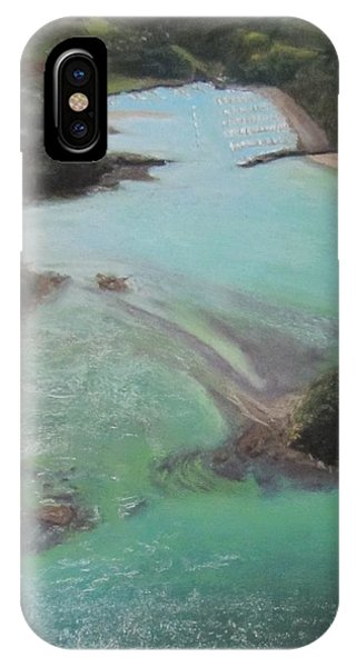 IPhone Case featuring the pastel Colors Of Tutukaka by Serena Dawson
