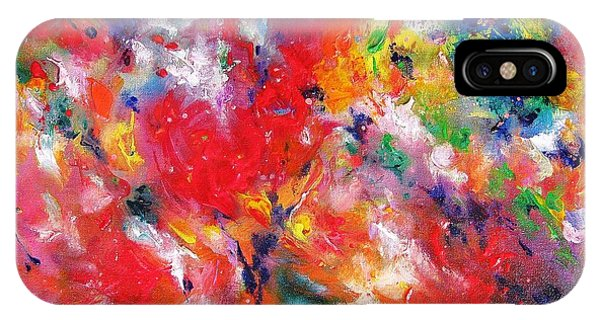Colorscape 17. Spring IPhone Case