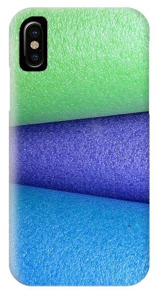 Colorscape Tubes B IPhone Case