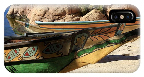 Colorul Canoe IPhone Case