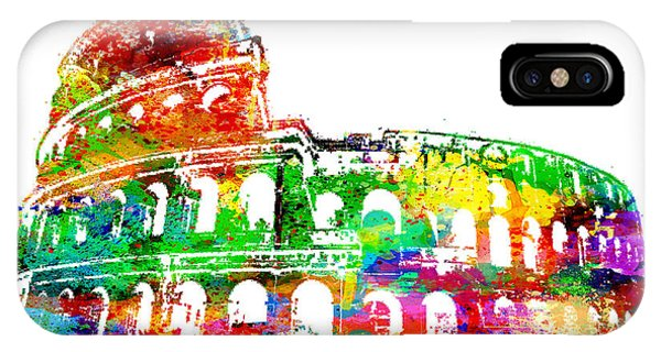 Colosseum Rome Italy IPhone Case