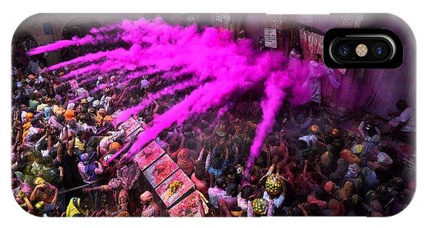 Colour Blast Phone Case by Avishek Das