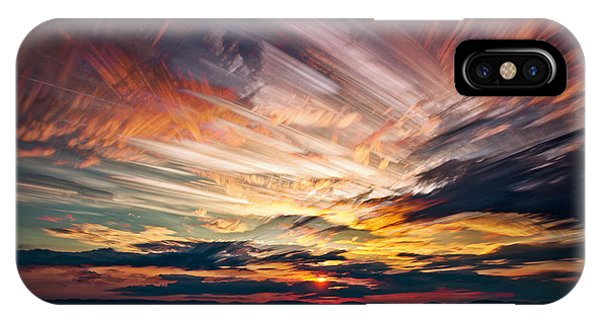 Colourful Cloud Collision IPhone Case