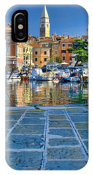 Colourful Harbour IPhone Case