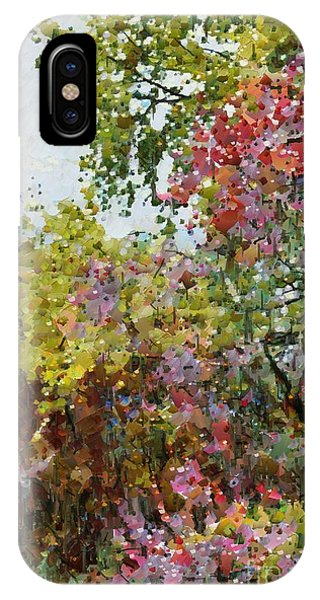 Colourful Spring Garden IPhone Case