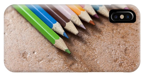 Colouring Pencils IPhone Case