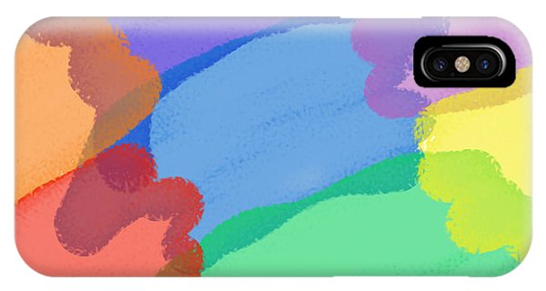 Colours Abstract IPhone Case