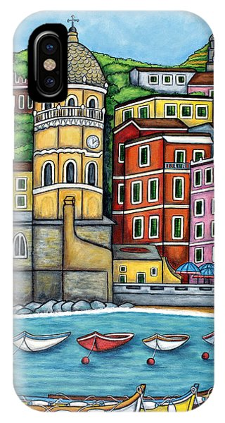 Colours Of Vernazza IPhone Case