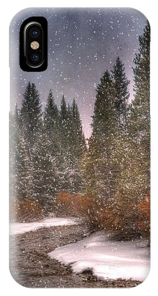 Colours Of Winter IPhone Case