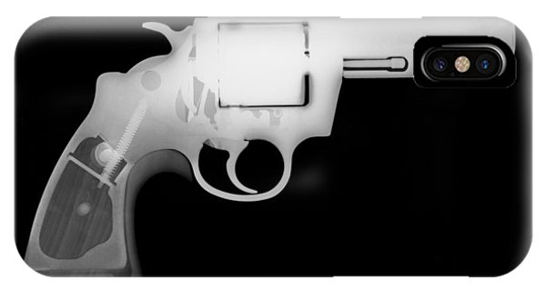 Calico M100 iPhone Case - Colt 357 Magnum Reverse by Ray Gunz