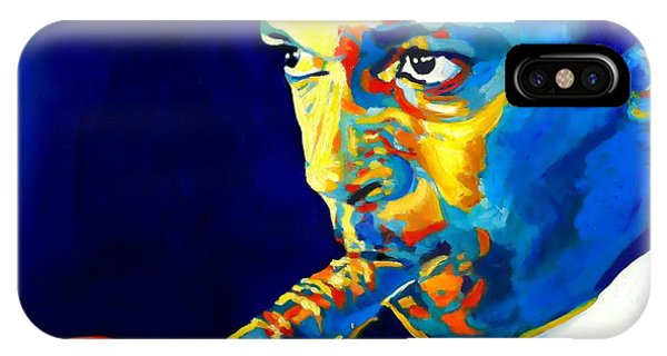 Coltrane-blu Phone Case by Vel Verrept
