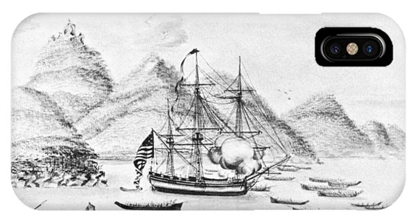 Pacific Ocean iPhone Case - Columbia Expedition, 1792 by Granger