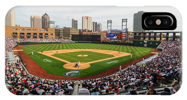 D24w-295 Columbus Clippers Photo IPhone Case