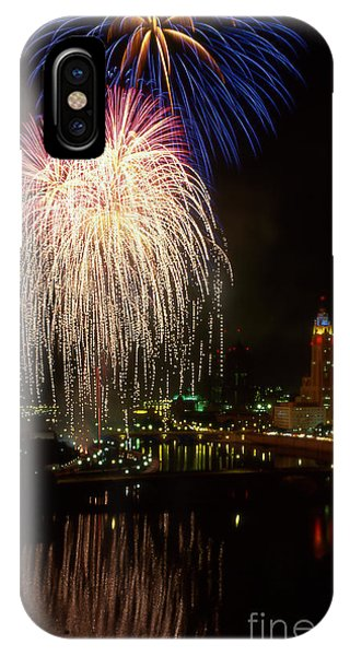 Columbus Red White And Boom IPhone Case