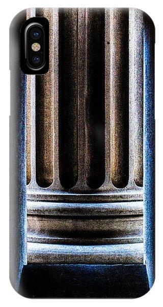 Column Number Nine  IPhone Case