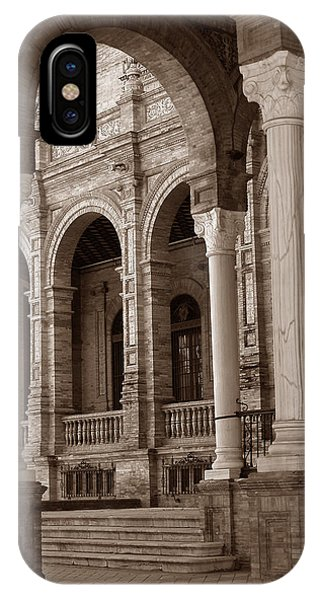 Columns And Arches IPhone Case