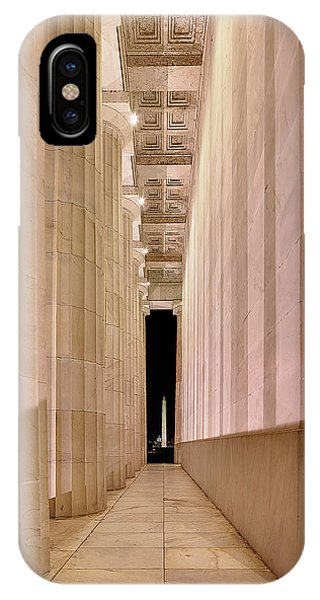 Columns And Monuments IPhone Case
