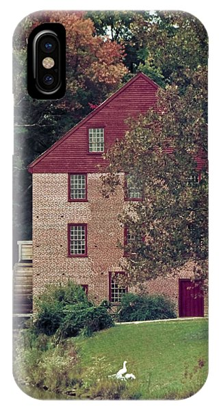 Colvin Run Mill IPhone Case