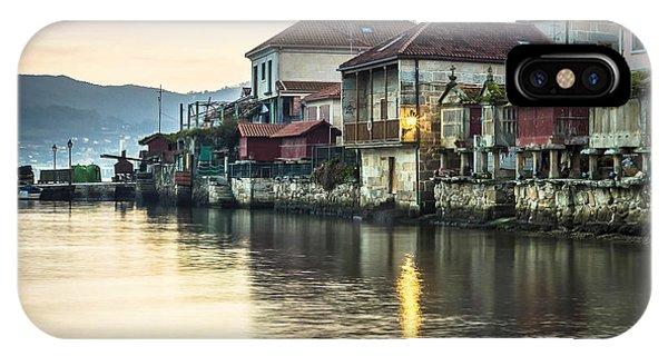 Combarro Pontevedra Galicia Spain IPhone Case