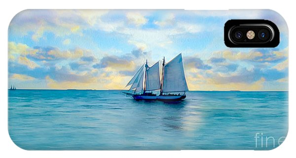 Come Sail Away Painting IPhone Case