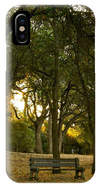 Come Sit Awhile IPhone Case