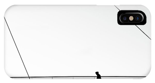Silhouette iPhone Case - Come To Start by Marius Surleac
