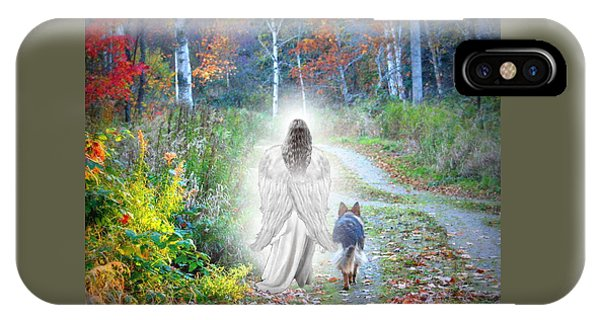 Walk iPhone Case - Come Walk With Me by Sue Long