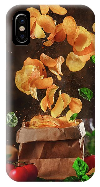 Comfort Food For Stormy Weather Phone Case by Dina Belenko