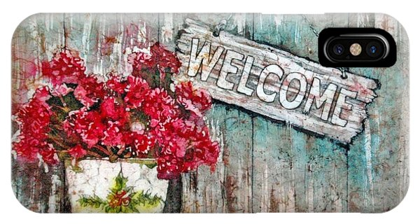 A Warm Welcome IPhone Case