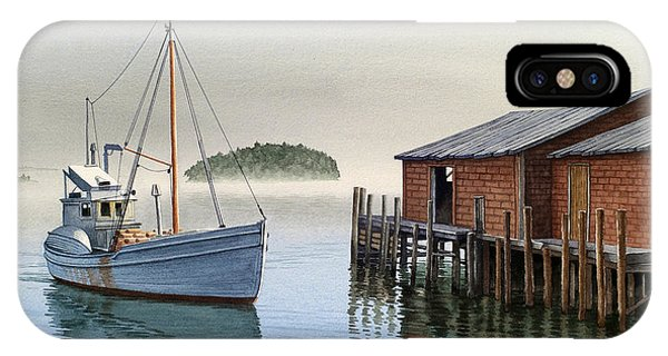 Fishing Boat iPhone Case - Coming In by Paul Krapf