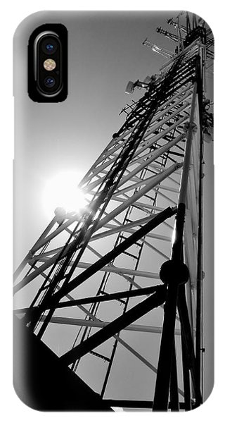 Comm Tower IPhone Case
