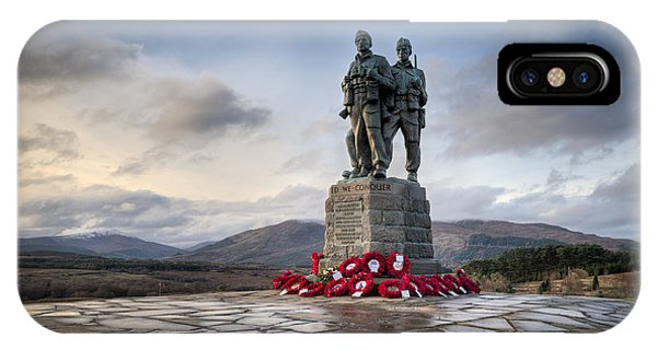 Commando Memorial At Spean Bridge IPhone Case