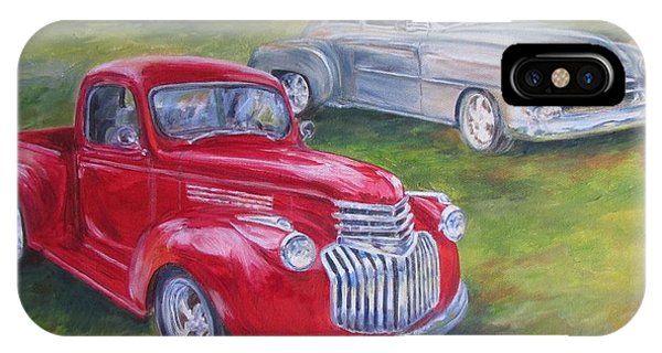 Commissioned Two Old Beauties Sold IPhone Case