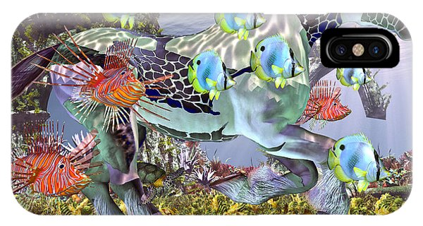 Sea Floor iPhone Case - Common Ground by Betsy Knapp