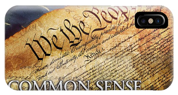 Common Sense IPhone Case