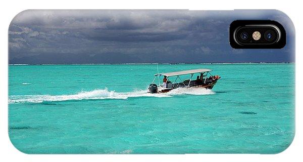 Commute Of Bora Bora  Phone Case by Nick Difi