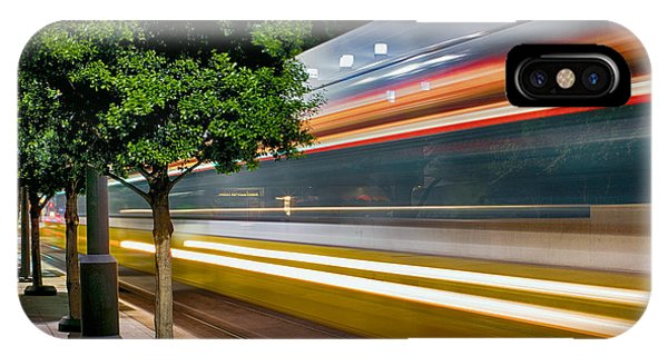 Dallas Commuter Train 052214 IPhone Case