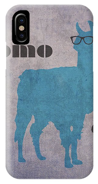 Llama iPhone Case - Como Te Llamas Humor Pun Poster Art by Design Turnpike
